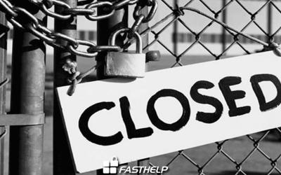 60% das pequenas empresas atingidas por vírus nos EUA vão à falência.