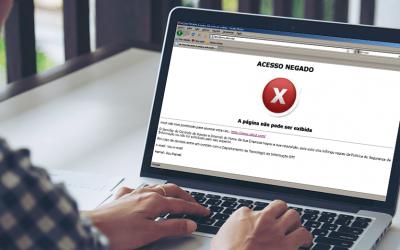 Quais sites devo bloquear no ambiente de trabalho?