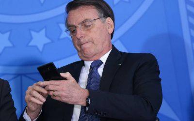 Presidente Bolsonaro, família e ministros são alvo de hackers